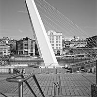 Buy canvas prints of Gateshead Millennium Bridge by Rob Cole