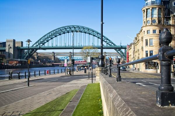 The Tyne Bridge, Newcastle Framed Print by Rob Cole