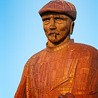 Buy canvas prints of Fishermens Memorial, North Shields by Rob Cole