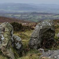 Buy canvas prints of Dartmoor Stone by Iain Fielding