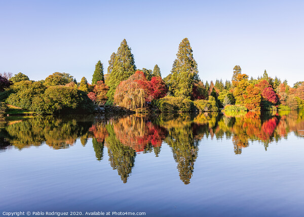 Sheffield Park Framed Mounted Print by Pablo Rodriguez