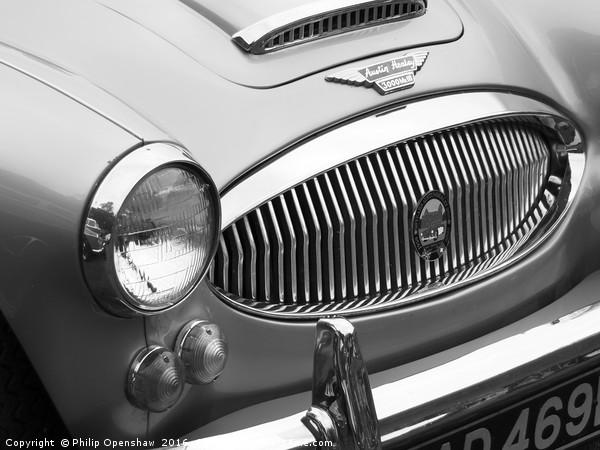 Austin-Healey 3000 Sports Car Canvas print by Philip Openshaw