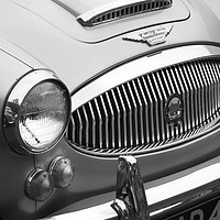 Buy canvas prints of Austin-Healey 3000 Sports Car by Philip Openshaw