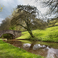 Buy canvas prints of Brecon Canal by Kevin White