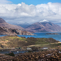 Buy canvas prints of Loch Torridon West Scotland by Kevin White