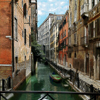 Buy canvas prints of brush strokes of Venice by Kevin White