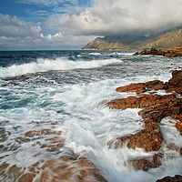 Buy canvas prints of Mallorca coast by Peter Hatter