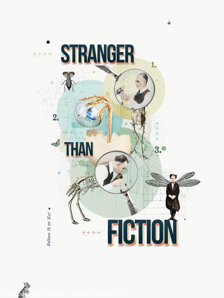 Stranger than Fiction Framed Print by Marius Els