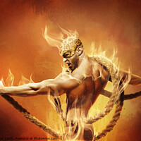 Buy canvas prints of Firebird by Marius Els