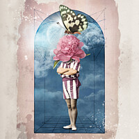 Buy canvas prints of Flowerhead No.2 by Marius Els