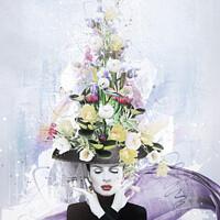Buy canvas prints of Floral Escapades by Marius Els