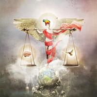 Buy canvas prints of Body Mind Spirit by Marius Els