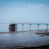 Buy canvas prints of Clevedon Pier by Linda Cooke