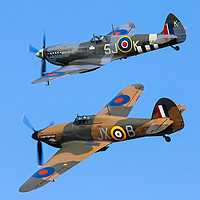 Buy canvas prints of Battle of Britain pair by Stephen Wright