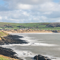 Buy canvas prints of Croyde Beach, Devon, England by Dave Collins
