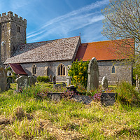 Buy canvas prints of Angle Church, Pembrokeshire, Wales. by Colin Allen
