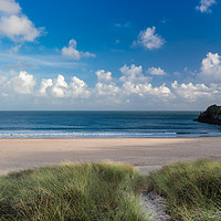 Buy canvas prints of Barafundle Beach, Pembrokeshire, Wales. by Colin Allen