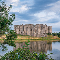 Buy canvas prints of Carew Castle, Pembrokeshire. by Colin Allen
