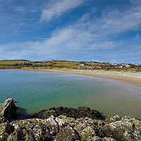 Buy canvas prints of Rhoscolyn Beach, Anglesey, Wales. by Colin Allen