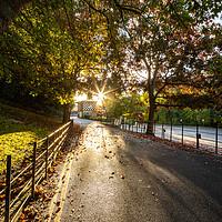 Buy canvas prints of Knaresborough North Yorkshire street scene by mike morley