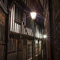 Buy canvas prints of Lady Peckett's Yard in York by Chris Dorney