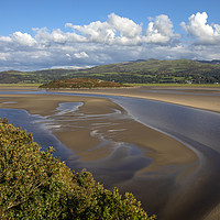 Buy canvas prints of Dwyryd Estuary Viewed from Portmeirion in North Wa by Chris Dorney