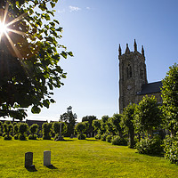 Buy canvas prints of Holy Trinity Church in Shaftesbury, Dorset, UK by Chris Dorney