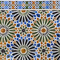 Buy canvas prints of Beautiful Portuguese Tiles by Chris Dorney