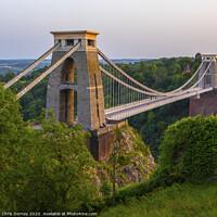 Buy canvas prints of Clifton Suspension Bridge in Bristol by Chris Dorney