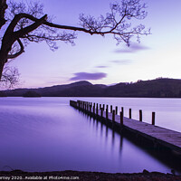 Buy canvas prints of Jetty on Coniston Water in the Lake District by Chris Dorney