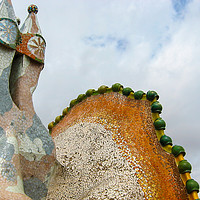 Buy canvas prints of Gaudi Mosaics by Milton Cogheil