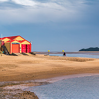 Buy canvas prints of Wells Lifeboat Station North Norfolk by Ann Mitchell