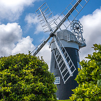 Buy canvas prints of Stow Mill Mundesley Norfolk by Ann Mitchell