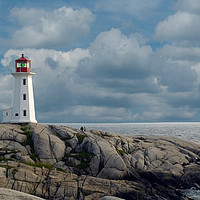 Buy canvas prints of Peggys Cove by Roxane Bay