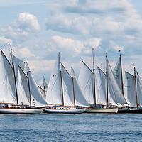 Buy canvas prints of Nova Scotia Schooner Races by Roxane Bay