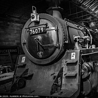 Buy canvas prints of pickering steam by kev cook