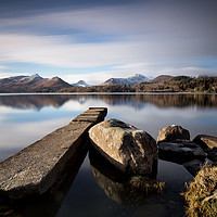 Buy canvas prints of To the Cumbrian Mountains by Phil Buckle