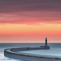 Buy canvas prints of Roker Sunrise by Phil Buckle