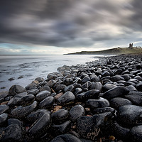Buy canvas prints of Dunstanburgh Boulders by Phil Buckle