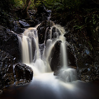 Buy canvas prints of Cat Gill Waterfall by Phil Buckle