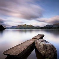 Buy canvas prints of Isthmus Jetty Long Exposure by Phil Buckle