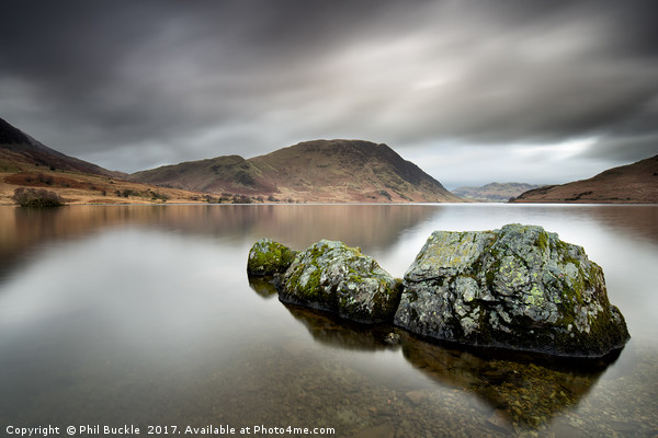 Stone Monster of Crummock Water Canvas print by Phil Buckle