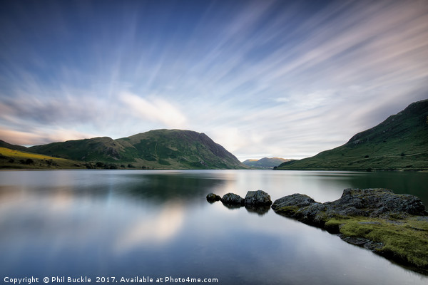 Mellbreak Fell Long Exposure Canvas print by Phil Buckle