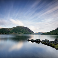 Buy canvas prints of Mellbreak Fell Long Exposure by Phil Buckle