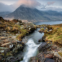 Buy canvas prints of Tryfan Moon by Phil Buckle