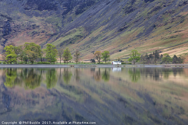 Char Hut, Buttermere Canvas print by Phil Buckle