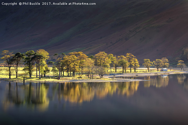Afternoon Light on Buttermere Canvas print by Phil Buckle