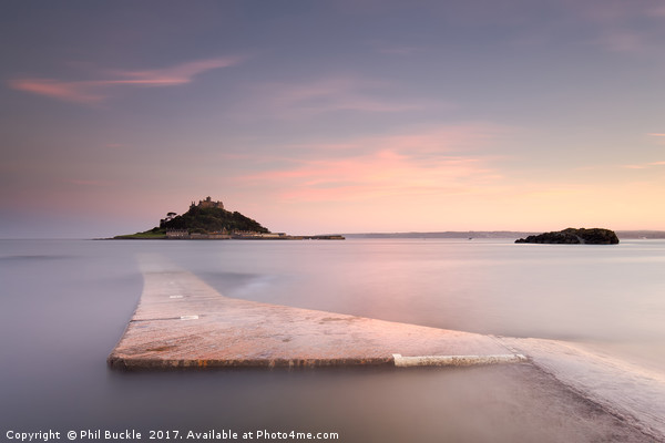 St Michael's Mount Canvas print by Phil Buckle