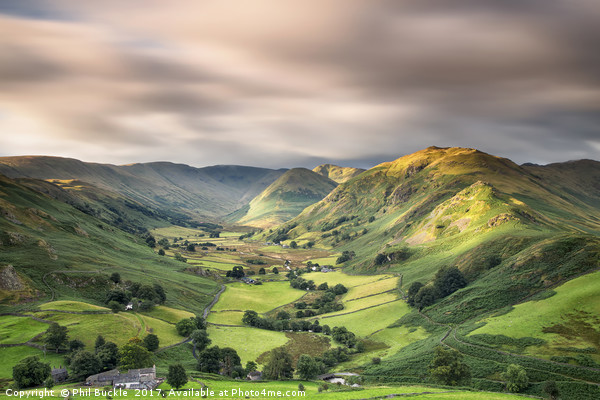 Martindale Valley Light Canvas print by Phil Buckle