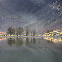 Buy canvas prints of Buttermere Beams by Phil Buckle
